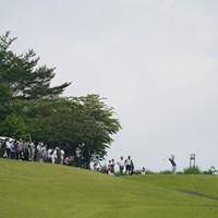 9番ティショット 2021年 ダンロップ・スリクソン福島オープン 2日目 時松隆光