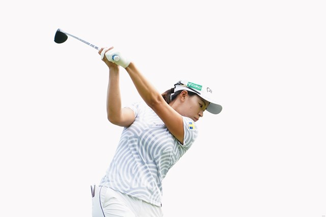2021年 KPMG全米女子プロゴルフ選手権 2日目 渋野日向子 渋野日向子は後半のウルトラプレーで「70」