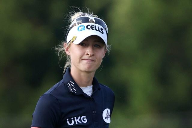 2021年 KPMG全米女子プロゴルフ選手権 2日目 ネリー・コルダ 絶好調!ネリー・コルダが首位浮上(Kevin C. Cox/Getty Images)