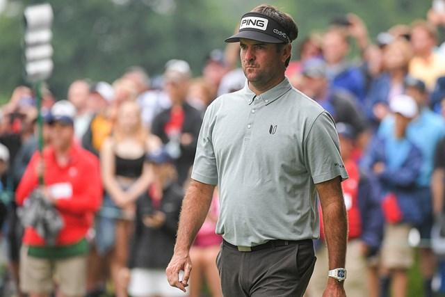 2021年 トラベラーズ選手権 2日目 バッバ・ワトソン 1打差2位につけるバッバ・ワトソン(Ben Jared/PGA TOUR via Getty Images)