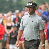 1打差2位につけるバッバ・ワトソン(Ben Jared/PGA TOUR via Getty Images) 2021年 トラベラーズ選手権 2日目 バッバ・ワトソン