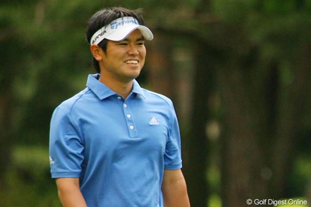 2010年 ダイヤモンドカップゴルフ 初日 武藤俊憲 パッティングが絶好調の武藤俊憲が8アンダーをマークし単独首位スタート