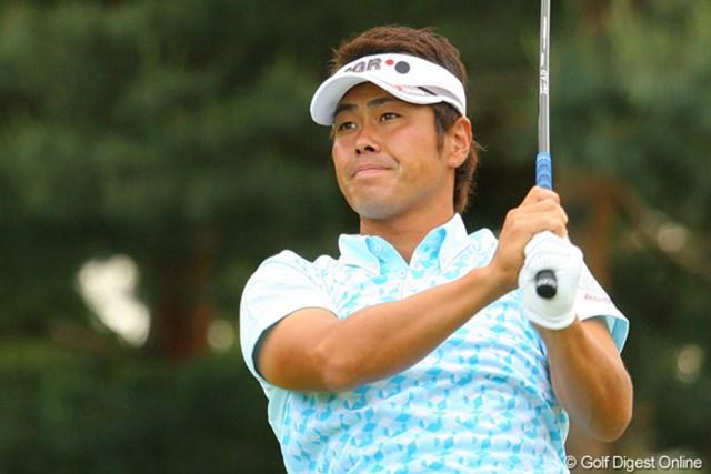 2010年 ダイヤモンドカップゴルフ 初日 谷原秀人 久しぶりの上位スタートとなる谷原秀人。4アンダー5位タイからさらに上位を目指す