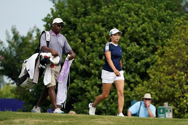 2021年 KPMG全米女子プロゴルフ選手権 3日目 渋野日向子 渋野日向子は3日目にキャディ変更のアクシデント