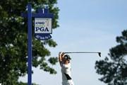 2021年 KPMG全米女子プロゴルフ選手権 3日目 1番ティ