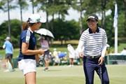 2021年 KPMG全米女子プロゴルフ選手権 3日目 渋野日向子 笹生優花