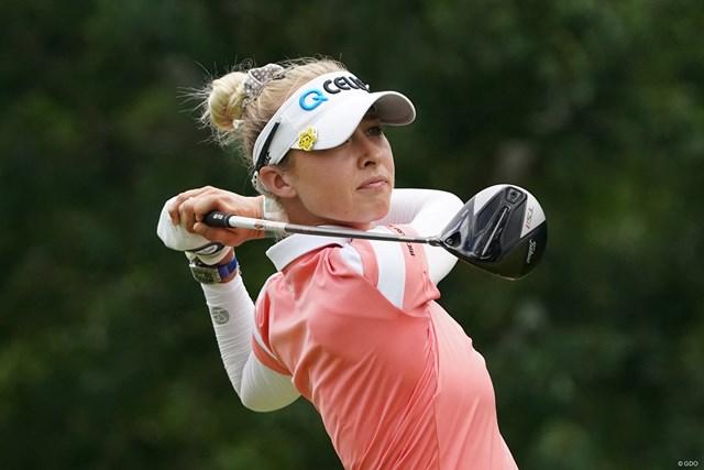 2021年 KPMG全米女子プロゴルフ選手権 3日目 ネリー・コルダ 首位タイで3日目を終えたネリー・コルダ