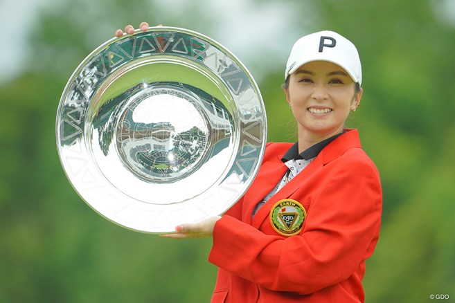菊地絵理香が完全優勝で4年ぶり4勝目 古江彩佳は五輪代表ならず