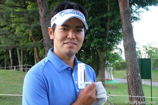 2010年 ダイヤモンドカップゴルフ 初日 武藤俊憲 D.ストックトン氏に勧められたパターで10バーディを奪いご機嫌な武藤俊憲