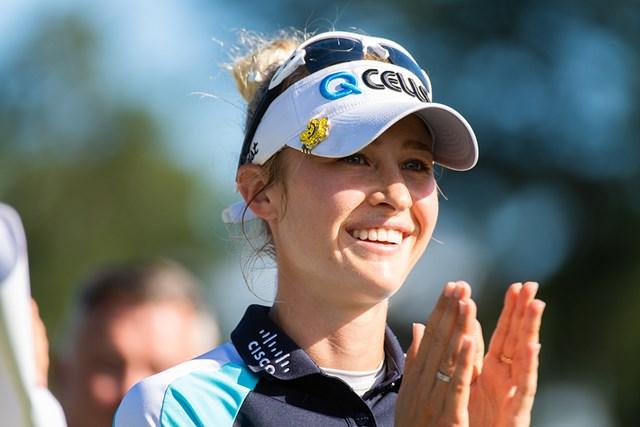 2021年 KPMG全米女子プロゴルフ選手権 4日目 ネリー・コルダ 初のメジャータイトルをつかんだネリー・コルダが米国勢復権をけん引する (Hailey Garrett/PGA of America via Getty Images)
