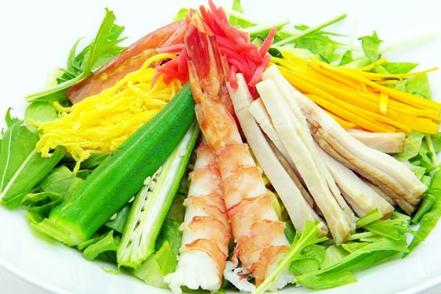 筑紫野カントリークラブ 筑紫野カントリークラブ「夏野菜の冷やし中華」