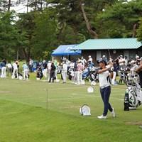石川遼と星野陸也は他選手と隔離されたエリアで練習 2021年 日本プロゴルフ選手権大会  事前 石川遼 星野陸也