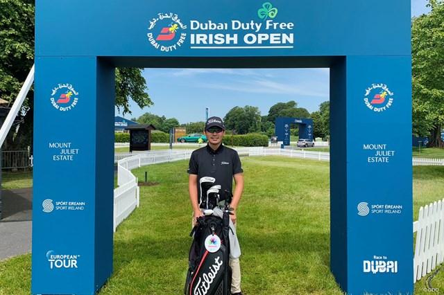 2021年 ドバイデューティーフリー アイルランドオープン 事前 川村昌弘 今週はアイルランドのナショナルオープンに出場します