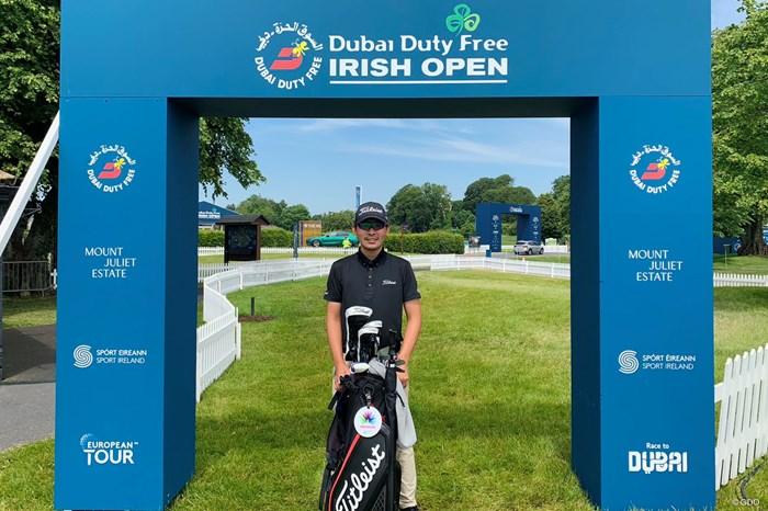 今週はアイルランドのナショナルオープンに出場します 2021年 ドバイデューティーフリー アイルランドオープン 事前 川村昌弘