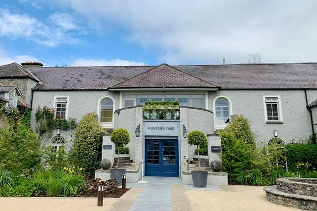 2021年 ドバイデューティーフリー アイルランドオープン 事前 マウントジュリエットエステート クラブハウスがかわいいマウントジュリエットエステート