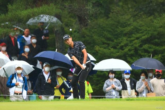 2021年 日本プロゴルフ選手権大会 初日 星野陸也 久しぶりのギャラリー