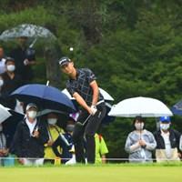 久しぶりのギャラリー 2021年 日本プロゴルフ選手権大会 初日 星野陸也