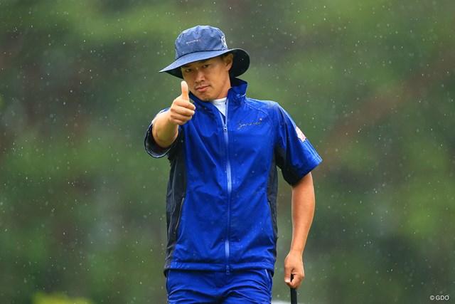 2021年 日本プロゴルフ選手権大会 初日 中西直人 Hole1 par4 419yards birdie