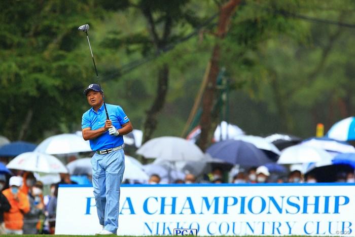 PGA CHAMPIONSHIP 2021 開幕!! 2021年 日本プロゴルフ選手権大会 初日 倉本昌弘