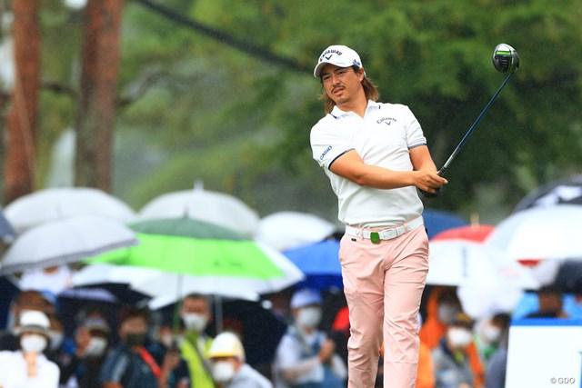 2021年 日本プロゴルフ選手権大会 初日 石川遼 1Wで積極的にコースを攻めた石川遼