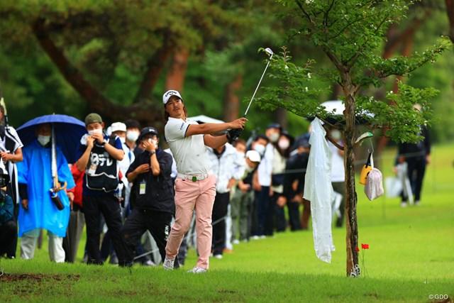 2021年 日本プロゴルフ選手権大会 初日 石川遼 隔離期間中でも多くのギャラリーを引き連れた