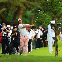 隔離期間中でも多くのギャラリーを引き連れた 2021年 日本プロゴルフ選手権大会 初日 石川遼