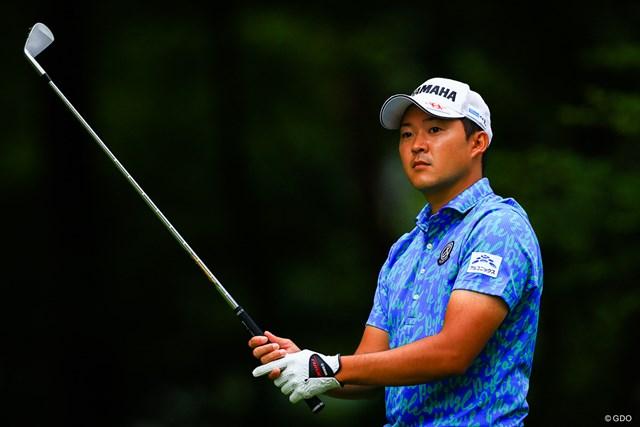 2021年 日本プロゴルフ選手権大会 2日目 今平周吾 2年連続賞金王の本領発揮へ。今季未勝利の今平周吾が浮上