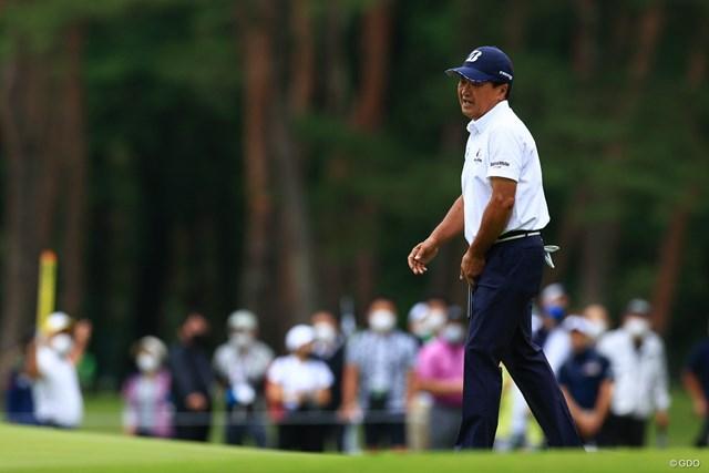 2021年 日本プロゴルフ選手権大会 2日目 倉本昌弘 もう少しで予選通過でしたが、、、残念