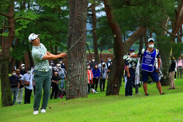 2021年 日本プロゴルフ選手権大会 2日目 石川遼 上位のメンツが楽しくなってきました