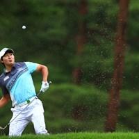 よく避けた! 2021年 日本プロゴルフ選手権大会 2日目 キム・ソンヒョン