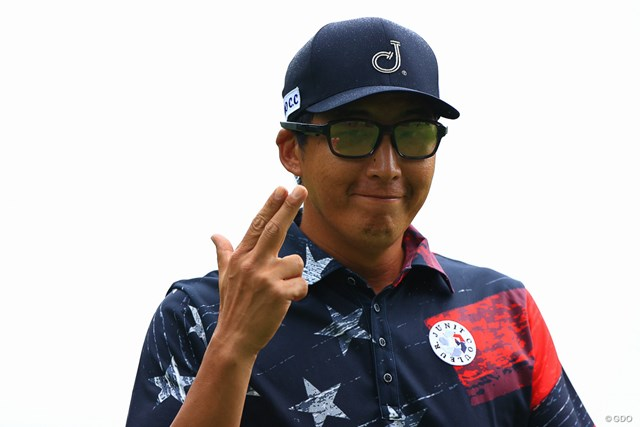 2021年 日本プロゴルフ選手権大会 2日目 ジェイ・チョイ pow pow !!