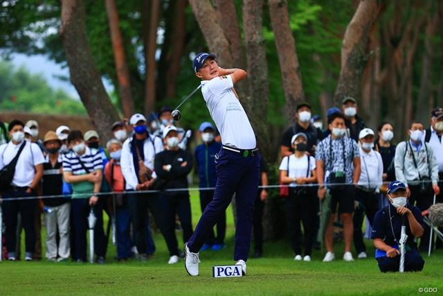 2021年 日本プロゴルフ選手権大会 2日目 星野陸也 星野陸也は予選落ち。週末はコース内での練習は可能