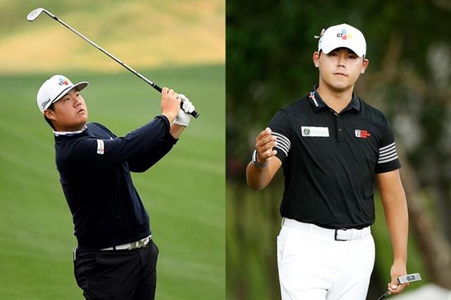 「東京五輪」韓国代表のイム・ソンジェ(左)とキム・シウーがメジャー回避を表明(Getty Images)