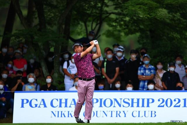 2021年 日本プロゴルフ選手権大会 3日目 池田勇太 単独首位に浮上した池田勇太。思い入れの強い場所、思い入れの強い大会で