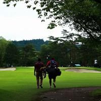hole16 par3 225yards  2021年 日本プロゴルフ選手権大会 3日目 池田勇太