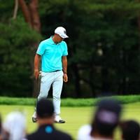 hole3 par3 200yards  bogey 2021年 日本プロゴルフ選手権大会 3日目 谷原秀人