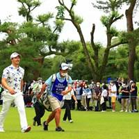 笑顔でスタート 2021年 日本プロゴルフ選手権大会 3日目 石川遼