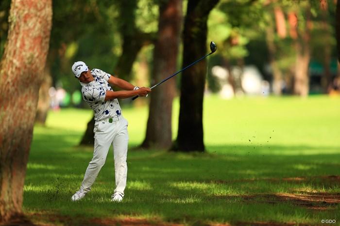hole18 par4 462yards second shot  1W! 2021年 日本プロゴルフ選手権大会 3日目 石川遼