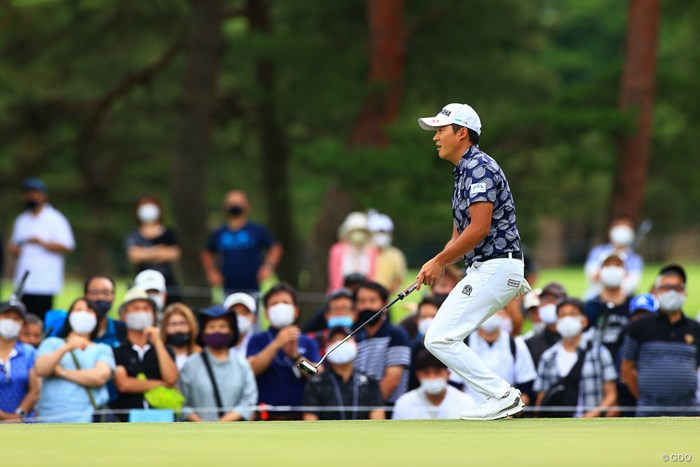 hole2 par4 368yards par 2021年 日本プロゴルフ選手権大会 3日目 今平周吾