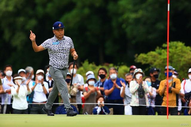 2021年 日本プロゴルフ選手権大会 3日目 片山晋呉 出だしから最高にカッコ良かったなー