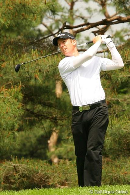 2010年 ダイヤモンドカップゴルフ 初日 クリス・キャンベル 後半に4ストローク伸ばして4アンダー5位タイに浮上したクリス・キャンベル