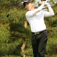 後半に4ストローク伸ばして4アンダー5位タイに浮上したクリス・キャンベル 2010年 ダイヤモンドカップゴルフ 初日 クリス・キャンベル