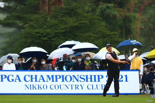 2021年 日本プロゴルフ選手権大会  最終日 石川遼 特例出場に感謝を示した石川遼