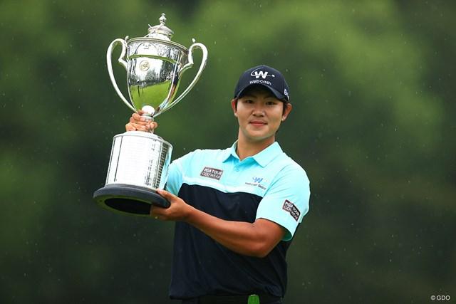 2021年 日本プロゴルフ選手権大会  最終日 キム・ソンヒョン 22歳のキム・ソンヒョンがツアー初優勝をメジャータイトルで飾った