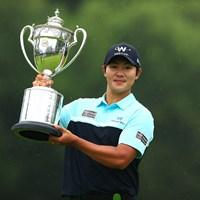 22歳のキム・ソンヒョンがツアー初優勝をメジャータイトルで飾った 2021年 日本プロゴルフ選手権大会  最終日 キム・ソンヒョン