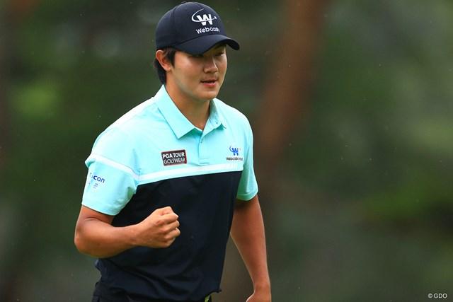 """2021年 日本プロゴルフ選手権大会 4日目 キム・ソンヒョン キム・ソンヒョンは韓国と日本の""""PGA選手権""""で優勝した"""