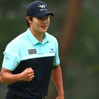 """キム・ソンヒョンは韓国と日本の""""PGA選手権""""で優勝した 2021年 日本プロゴルフ選手権大会 4日目 キム・ソンヒョン"""