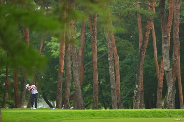 hole6 par4 350yards tee shot 2021年 日本プロゴルフ選手権大会 最終日 今平周吾