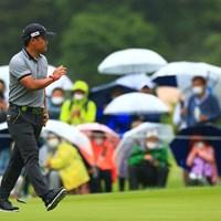 hole1 par4 419yards birdie 2021年 日本プロゴルフ選手権大会 最終日 宮里優作