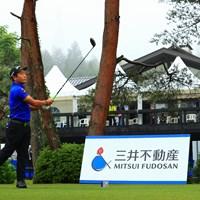 hole10 par5 518yards tee shot 2021年 日本プロゴルフ選手権大会 最終日 稲森佑貴